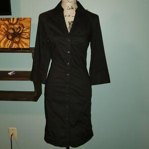 New Express Designs Studio Shirt Dress